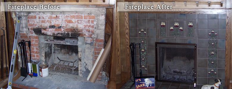 Decorative Fireplace Ideas fireplace tiles | decorative fireplace tile | fireplace ideas
