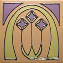 Art deco ceramic tile geometric design 5045