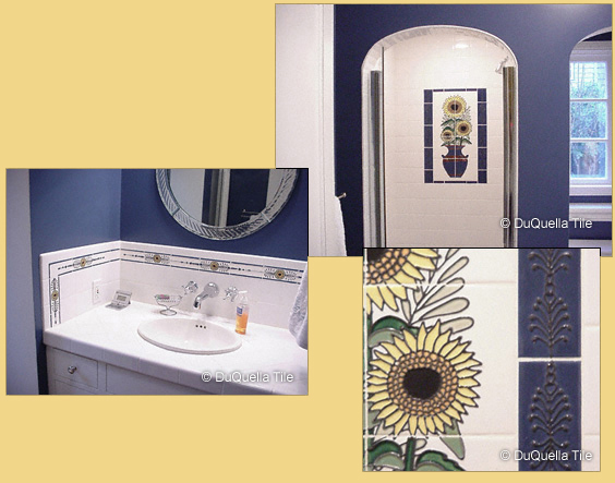 DuQuellaTile - Handcrafted decorative tiles in Arts and Crafts, Art ...