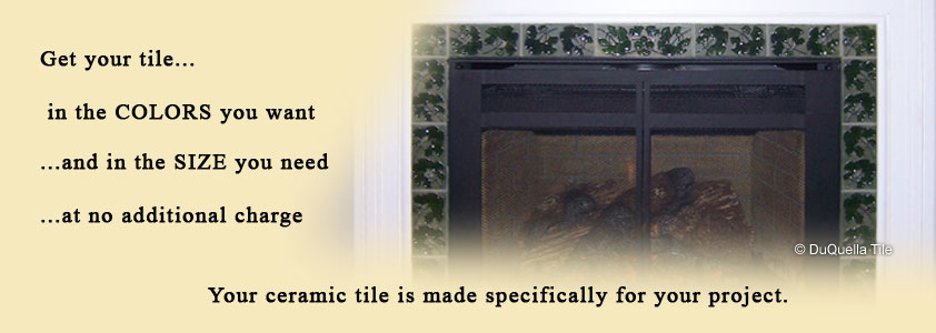 Art Deco ceramic tiles. Tile patterns & designs. Fireplace surround tile