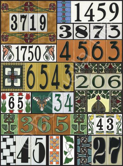 Decorative tiles. Art Deco, Arts and Crafts, Art Nouveau tile ... on